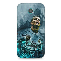 Oil painted ronaldo  design,  Moto G printed back cover