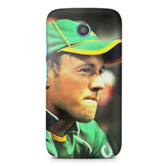 AB de Villiers South Africa Moto X printed back cover