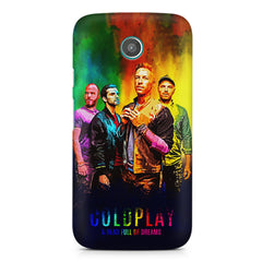 Coldplay Colorful Album Art A Head Full of Dreams design,  Moto E printed back cover