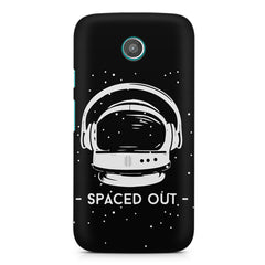 Spaced out by music design Moto G printed back cover