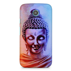 Lord Buddha design Moto G printed back cover