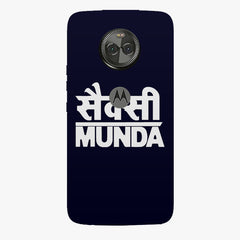 Sexy Munda quote design    Moto X4 hard plastic printed back cover