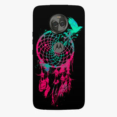 Good luck Pigeon sketch design    Moto X4 hard plastic printed back cover