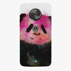 Polar Bear portrait design Moto X4 hard plastic printed back cover