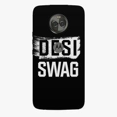 Desi Swag Moto X4 hard plastic printed back cover