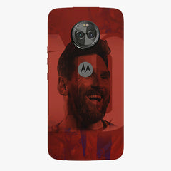 Messi jersey 10 blended design Moto X4 hard plastic printed back cover