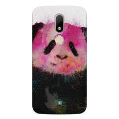 Polar Bear portrait design Moto M hard plastic printed back cover