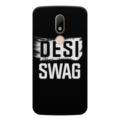 Desi Swag Moto M hard plastic printed back cover