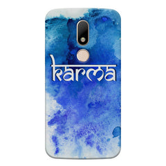 Karma Moto M hard plastic printed back cover