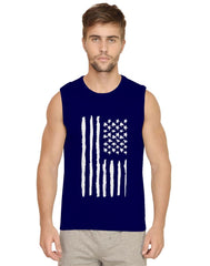 American Flag design Mens Vests