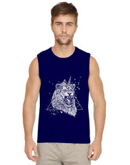Furious unicorn design Mens Vests