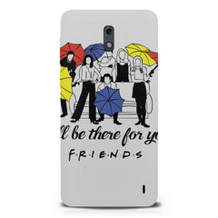 F.R.I.E.N.D.S. design  Nokia 1 hard plastic printed back cover.
