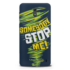 Be Unstoppable design  Nokia 1 hard plastic printed back cover.
