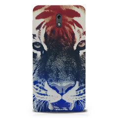 Pixel Tiger Design Nokia 1 hard plastic printed back cover.