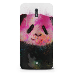 Polar Bear portrait design Nokia 1 hard plastic printed back cover.