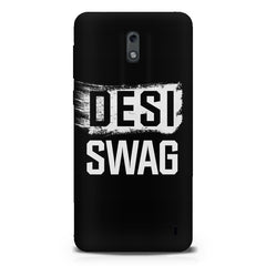 Desi Swag Nokia 1 hard plastic printed back cover.