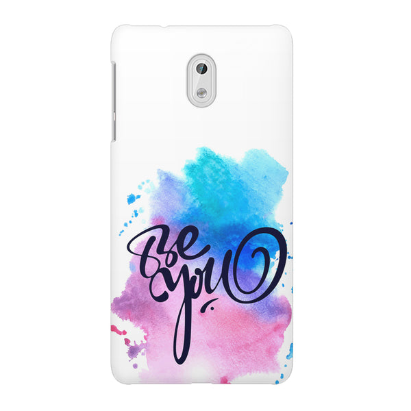 Be yourself design Nokia 3  printed back cover