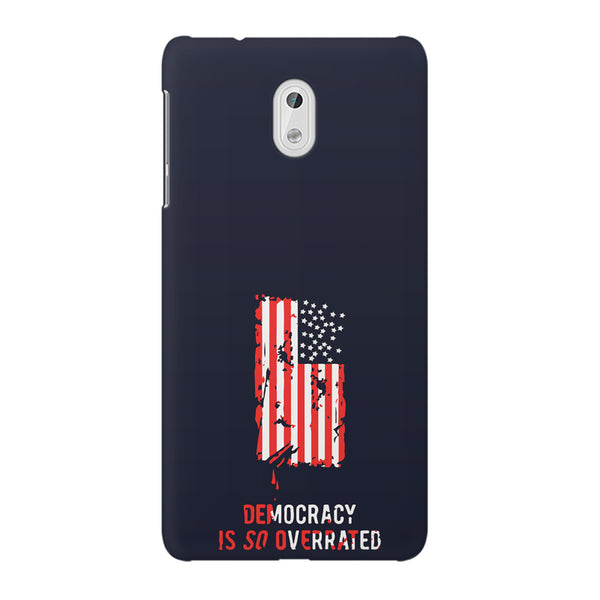 American Flag design Nokia 3  printed back cover