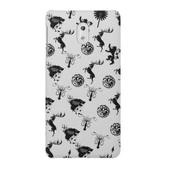 GOT pattern design Nokia 3 printed back cover