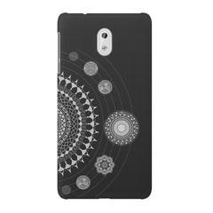 Ethnic design pattern Nokia 3 printed back cover