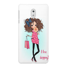 I love shopping quote design Nokia 3 printed back cover