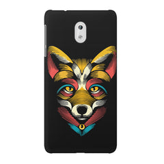 Fox sketch design Nokia 3 printed back cover