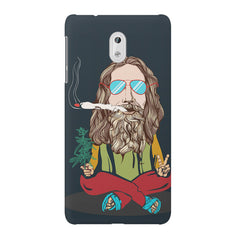 Smoking high design Nokia 3 printed back cover