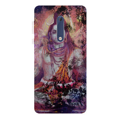 Shiva painted design Nokia 5  printed back cover