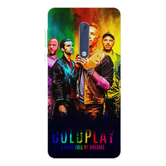 Coldplay Colorful Album Art A Head Full of Dreams design,   Nokia 7 plus hard plastic printed back cover.