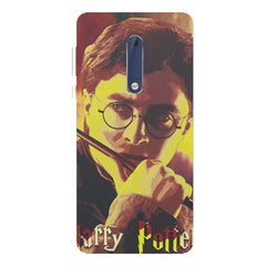Harry Potter Gryffindor Abstract Art design,   Nokia 7 plus hard plastic printed back cover.