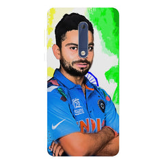 Virat Kohli Oil Painting India design,  Nokia 5  printed back cover
