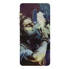 Smoking weed design Nokia 5  printed back cover