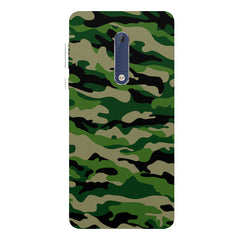 Military design design Nokia 5  printed back cover