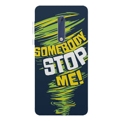 Be Unstoppable design Nokia 5  printed back cover