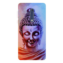 Lord Buddha design Nokia 5  printed back cover
