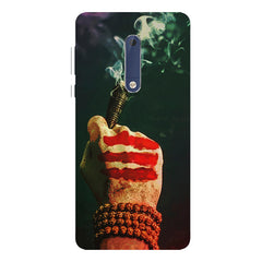 Smoke weed (chillam) design Nokia 5  printed back cover