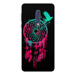 Good luck Pigeon sketch design all side printed hard back cover by Motivate box Nokia 6.1 Plus (Nokia X6) hard plastic all side printed back cover.