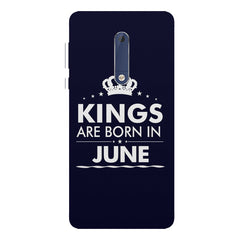 Kings are born in June design Nokia 7 plus all side printed hard back cover by Motivate box Nokia 7 plus hard plastic printed back cover.
