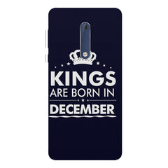 Kings are born in December design Nokia 7 plus all side printed hard back cover by Motivate box Nokia 7 plus hard plastic printed back cover.