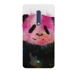 Polar Bear portrait design Nokia 6.1 Plus (Nokia X6) hard plastic all side printed back cover.