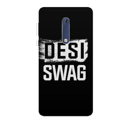 Desi Swag Nokia 6.1 Plus (Nokia X6) hard plastic all side printed back cover.