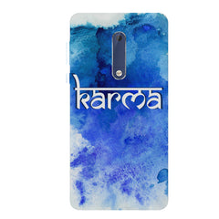 Karma Nokia 6.1 Plus (Nokia X6) hard plastic all side printed back cover.