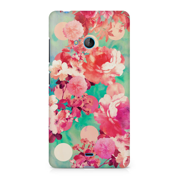 Floral  design, Nokia Lumia 540 printed back cover