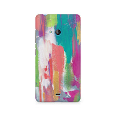 Abstract Painting Nokia Lumia 540 printed back cover