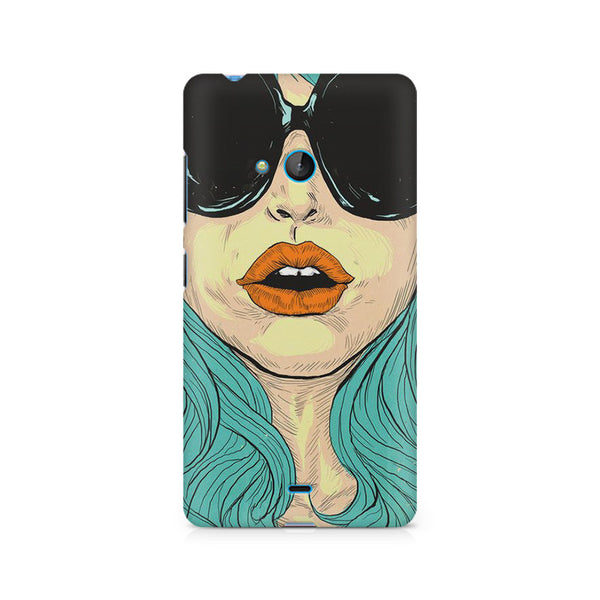 Beautiful Woman Oil Painting Nokia Lumia 540 printed back cover