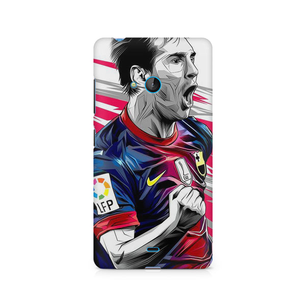 Messi  design, Nokia Lumia 540 printed back cover