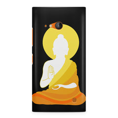 Buddha sketch design Nokia Lumia 730 printed back cover