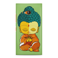 Buddha caricature design Nokia Lumia 730 printed back cover