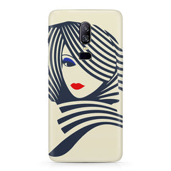 Fashionable girly design  Oneplus 6(Six) hard plastic all side printed back cover.