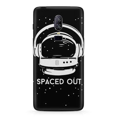 Spaced out by music design  Oneplus 6(Six) hard plastic all side printed back cover.